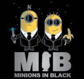 Minions in Black…