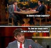 Martin Freeman and Stephen Colbert everyone…