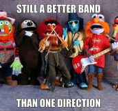 Still a better band…
