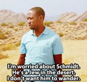 A Jew in the desert…