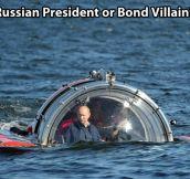 Russian villain…