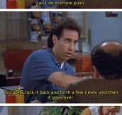 Seinfeld explains break-ups…