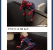 Twerking Spider-Man…