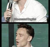 Tom Hiddleston knows what life is all about…