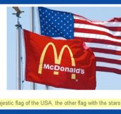 The majestic American flag…