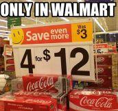 Walmart's math…