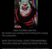 Why I'm afraid of clowns…
