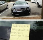 Improve your parking skills…