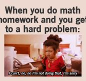 When you get to a hard problem…