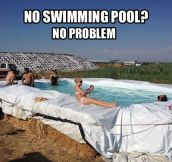 Swimming pools in the south…