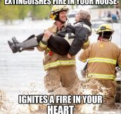 Ridiculously Photogenic Firefighter…
