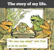My life explained in a children's book…