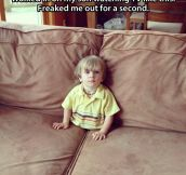 Freaked me out for a second…