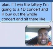 If I ever win the lottery…