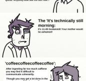 Types of morning people…