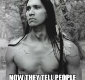 Native American problems…