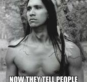 Native American problems…
