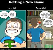 The sad reality of becoming an adult gamer…
