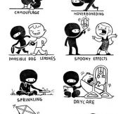 Truth about ninjas…
