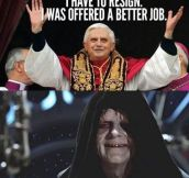 Why the pope resigned…