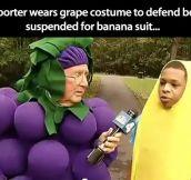 Good guy reporter…
