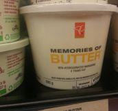 Memories of butter days…