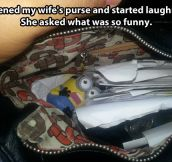 Despicable purse…