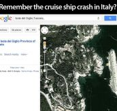 Remember the cruise ship crash?