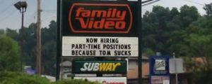 Bad luck Tom…