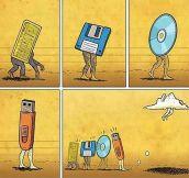 Evolution of technology…