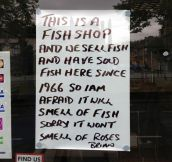 Fishmonger gets real…