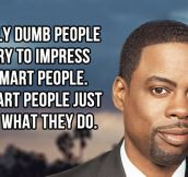 Dumb people vs. smart people…
