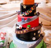 Mario Kart Wedding Cake…