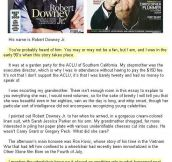 Robert Downey Jr. and the kindest act…