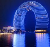 Sheraton hotel in China…
