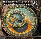 Astronomical clock in Prague…