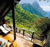 Now this is a balcony…