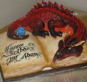 An awesomely geeky cake…