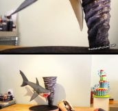 The greatest Sharknado cake you'll ever see…