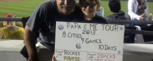An awesome dad…