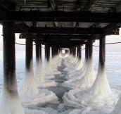 Frozen Pier…