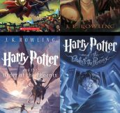 New illustrated covers of Harry Potter…