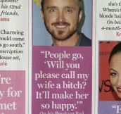 Aaron Paul everyone…