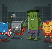 Chemical Avengers…