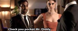 Aziz is smooth…