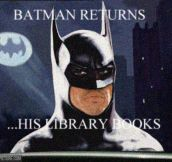 Batman Returns…