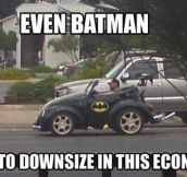 Not even Superheroes are safe…