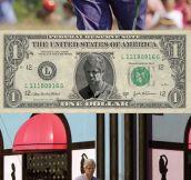 Displeased Purple Bill Clinton…