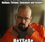 Seductive chemistry…