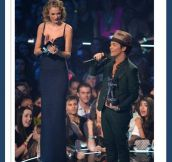 Bruno Mars locked out of heaven…